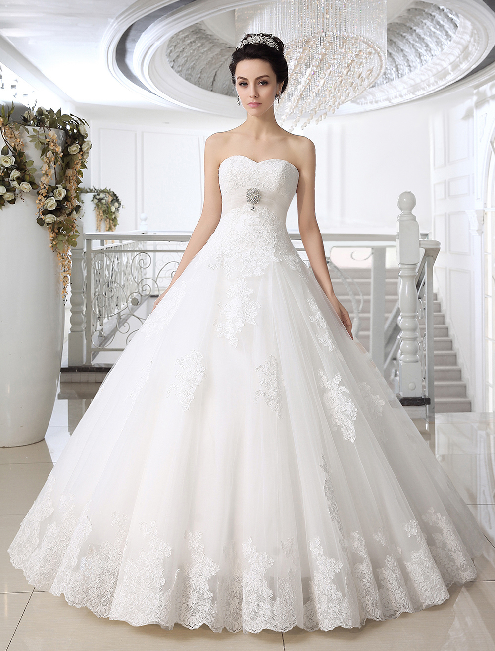 Tidebuy wedding dresses are widely known by most people for their trendy designs, high quality, elegant tastes and affordable prices. There are various cheap wedding dresses on this website, and you can choose your favorite ones easily.