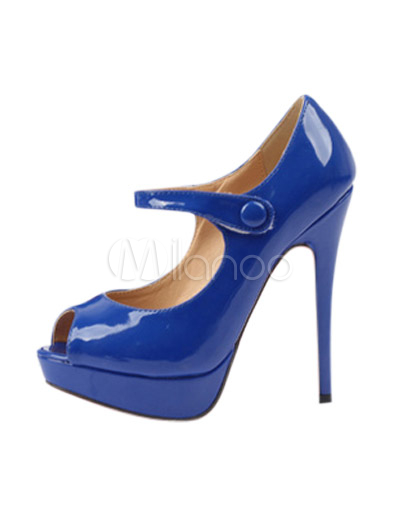 Scarpe Tacchi Blu