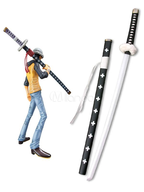 One Piece Trafalgar Law White Sword Cosplay Weapon Halloween