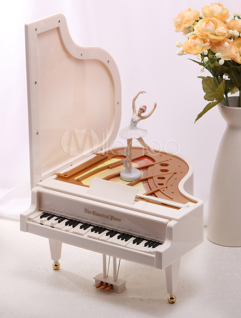 Piano Ballet Girl Music Box Wedding Gifts