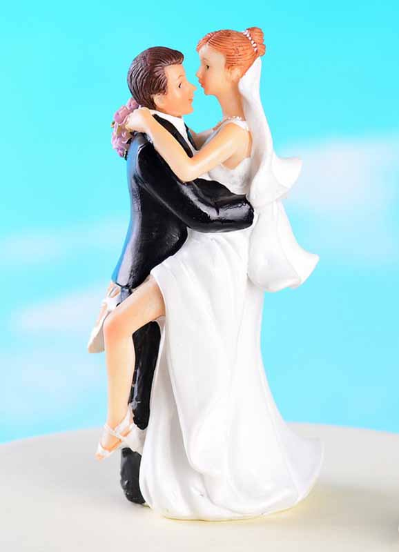 Classic Couple Classic & Traditional Figurine Wedding Cake Toppers