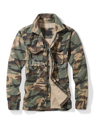 camouflage herren jacke