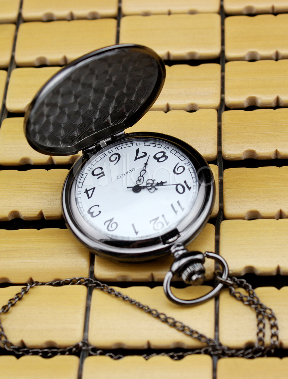 Vintage Personalized Wedding Pocket Watch