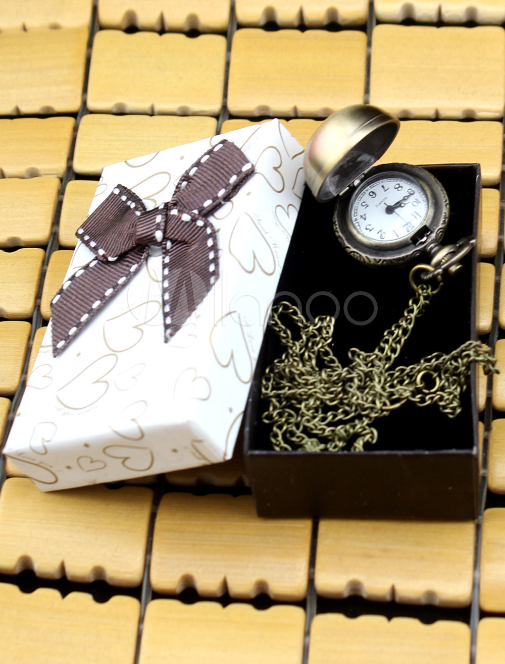 Ball Shape Metal Personalized Wedding Pocket Watch