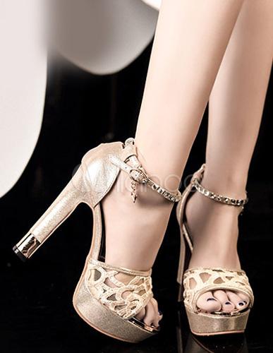 Scarpe Tacco Grosso Eleganti