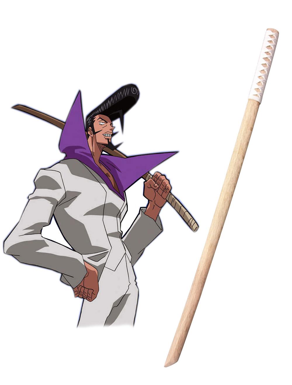 Shaman King Ryunosuke Umemiya Rio Cosplay Wooden Sword