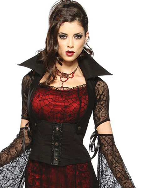 gothique vampire halloween costume pour femme. Black Bedroom Furniture Sets. Home Design Ideas