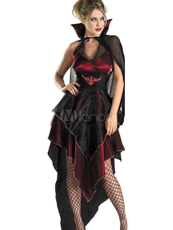 toussaint cosplay costume de vampire rouge fonc pour. Black Bedroom Furniture Sets. Home Design Ideas