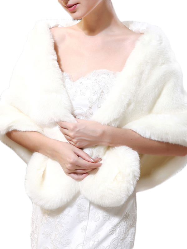 Faux Fur Poncho  Cape $53.99 AT vintagedancer.com
