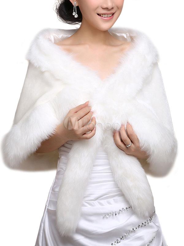 Faux Fur Shawl $19.99 AT vintagedancer.com