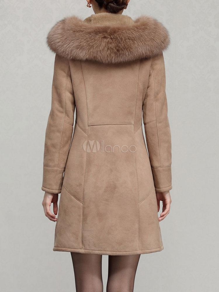 Cappotto di pelliccia di montone