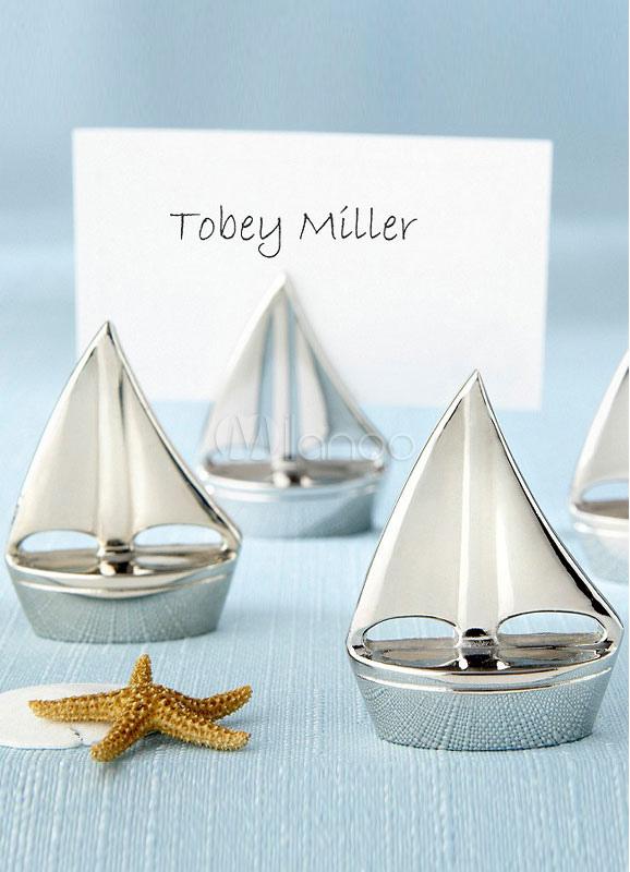 Ship Pattern Wedding Place Cards Set ( 4/Set )
