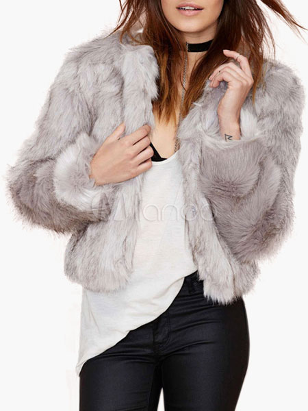 Faux Fur Womens Jackets