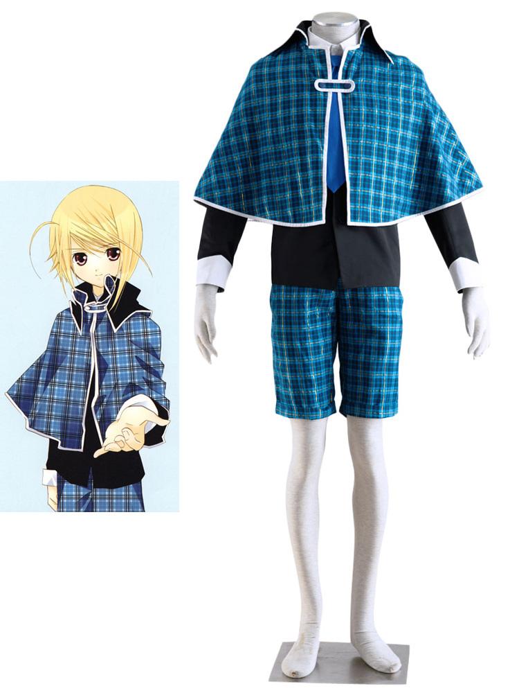 Shugo Chara! Holy Night Colledge Boy School Uniform Cosplay Costume