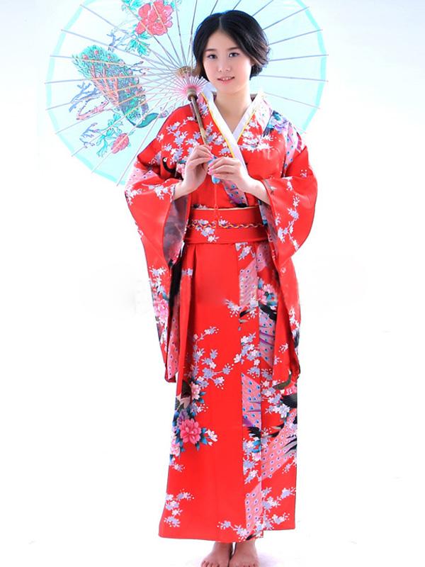 kimono japonais traditionnel halloween costume. Black Bedroom Furniture Sets. Home Design Ideas