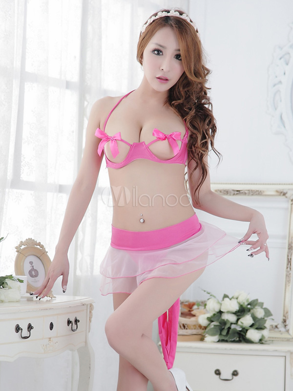 08552d56270 Rose Red Sexy Strappy Costume For Woman - 03960521915 by milanoo