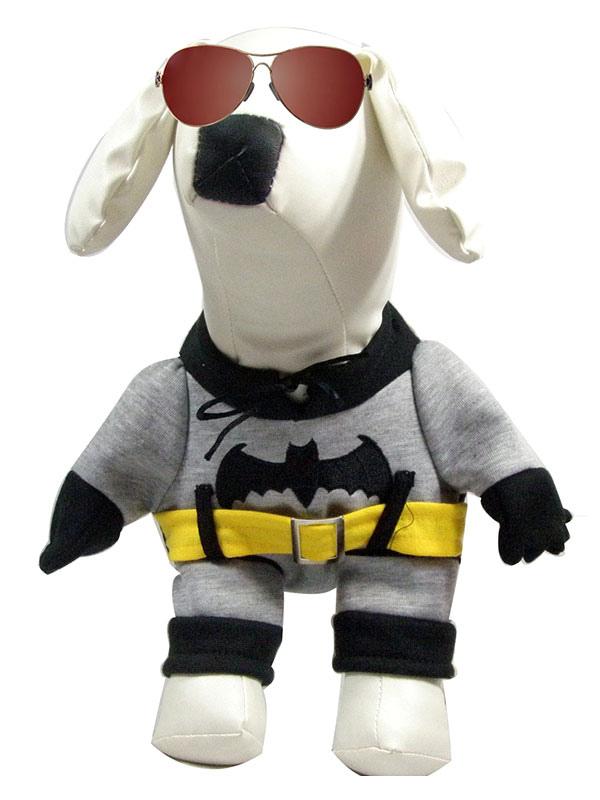 halloween hund kost m batman grau ein st ck haustier kost me. Black Bedroom Furniture Sets. Home Design Ideas