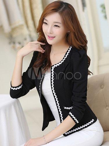Belle veste pour femme style urbain convenable - Portant pour vetement pas cher ...