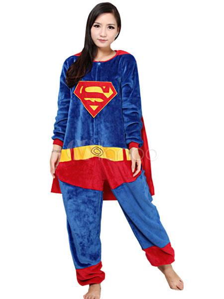 superman pajamas for women