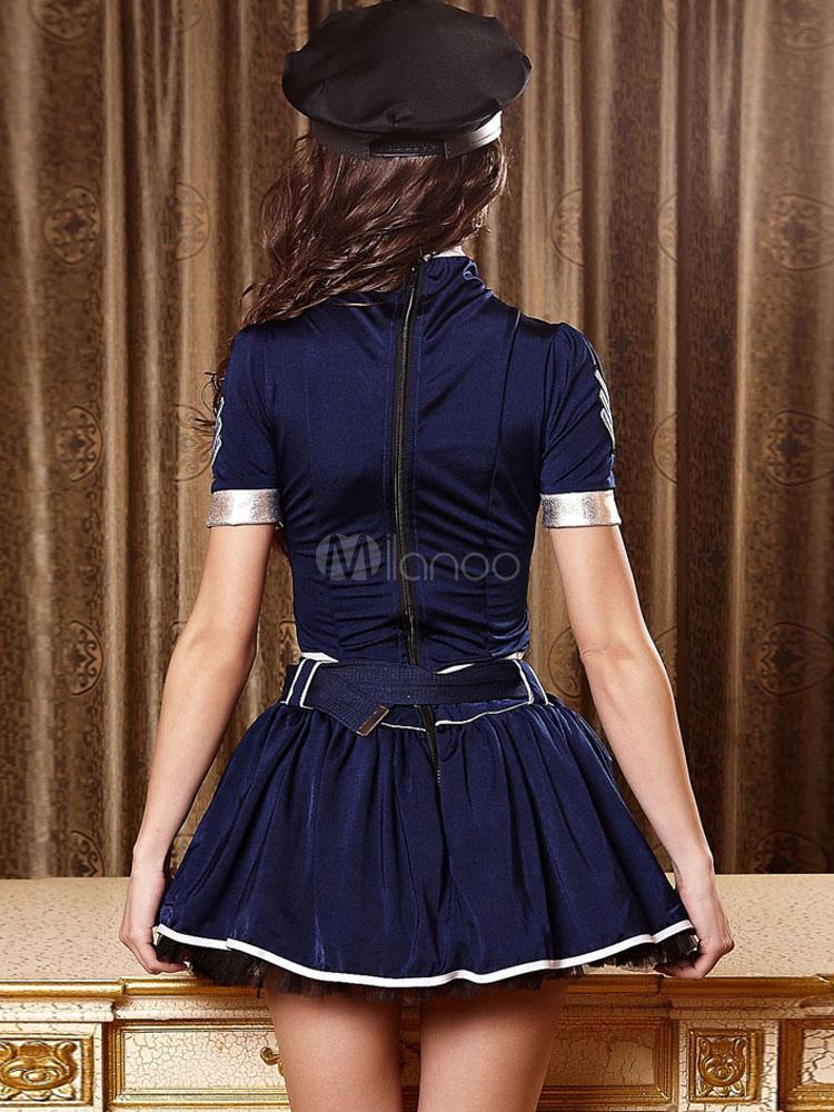 belted short sleeve polyester women 39 s bedroom costume
