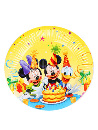 mickey mouse paper plates Whether you want to throw a jake and the neverland pirates or pink pirate party for your kid, find all the pirate supplies you need at birthdayexpresscom.