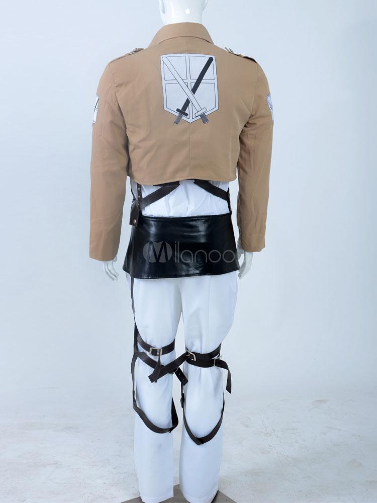 Attack on Titan Mikasa Ackerman Halloween Cosplay Costume ...
