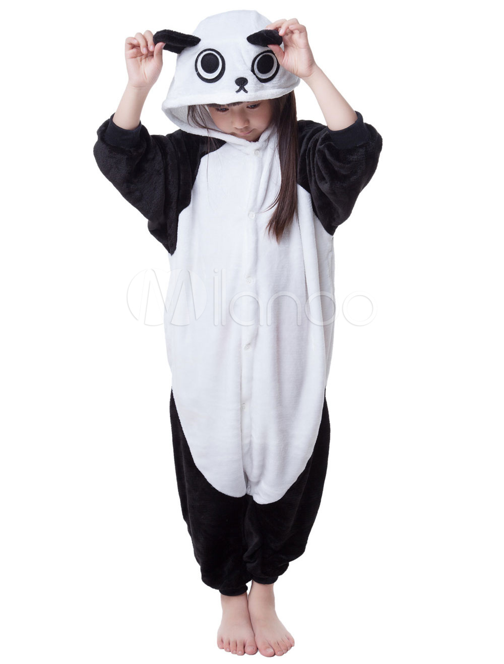 Product Features A2Z 4 Kids Kids Girls Boys Onesie Soft Fluffy Panda All In One Xmas Costume.