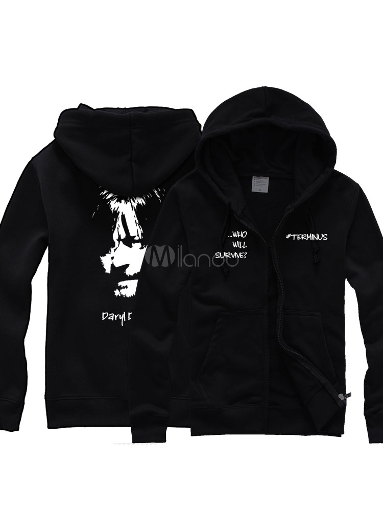 T shirt noir en coton de t l vision for Film noir t shirts