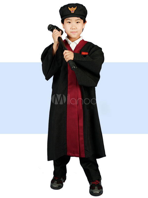 Halloween Lawyer Polyester Costume for Kids - Milanoo.com