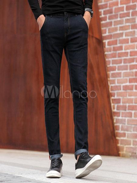 schwarze jeans trendige gerade jeans f r m nner. Black Bedroom Furniture Sets. Home Design Ideas