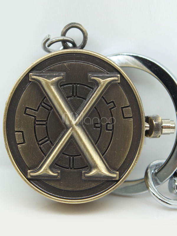 X-Men Metal Key Chain Bronze