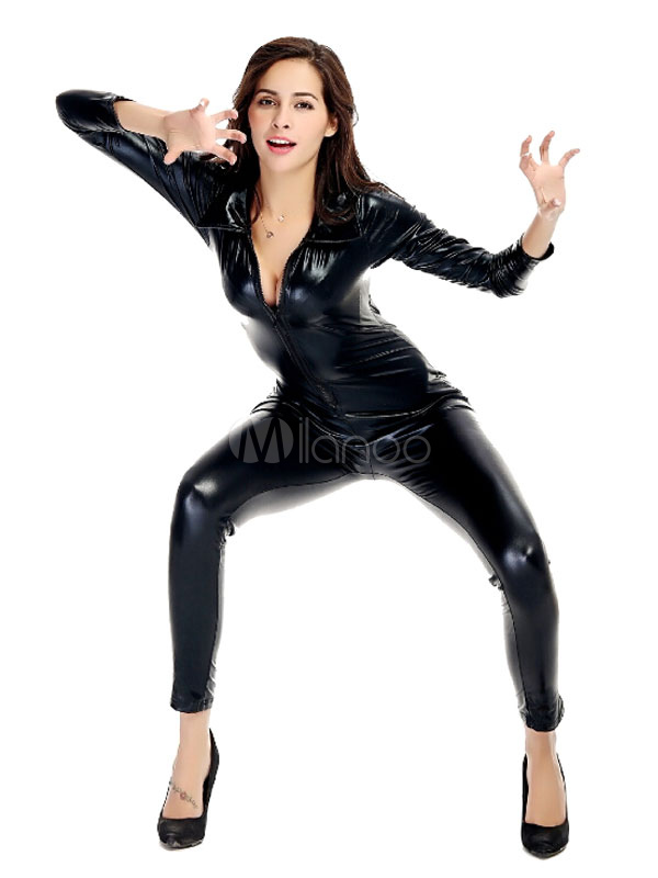 rouge pole dancing spandex costume slim fit jumpsuit pour femmes. Black Bedroom Furniture Sets. Home Design Ideas