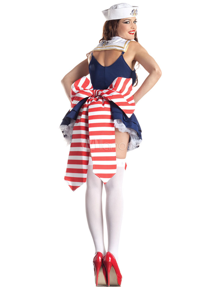 Halloween sexy american sailor costume cosplay for fourth