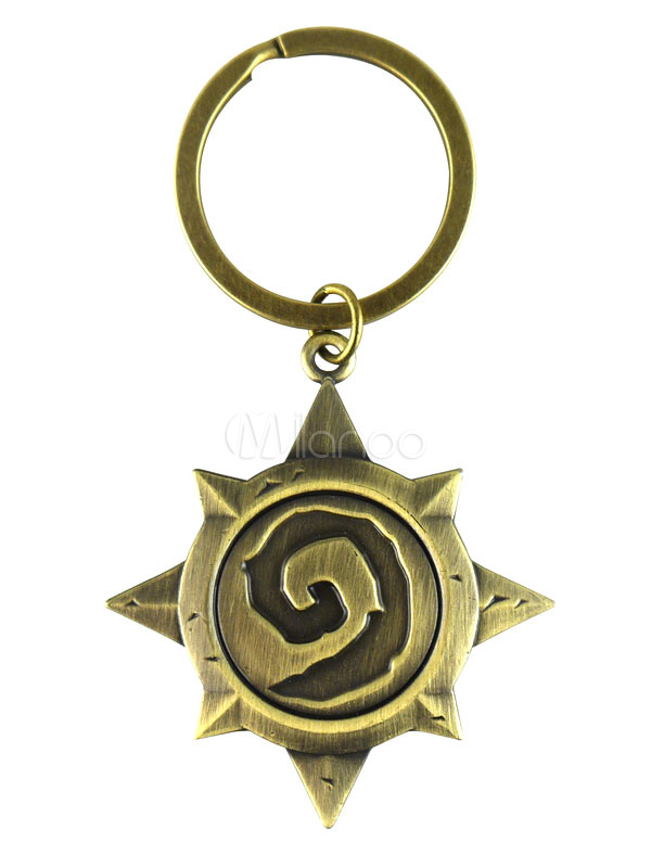 Hearthstone Key Chain Heroes of Warcraft Key Chain