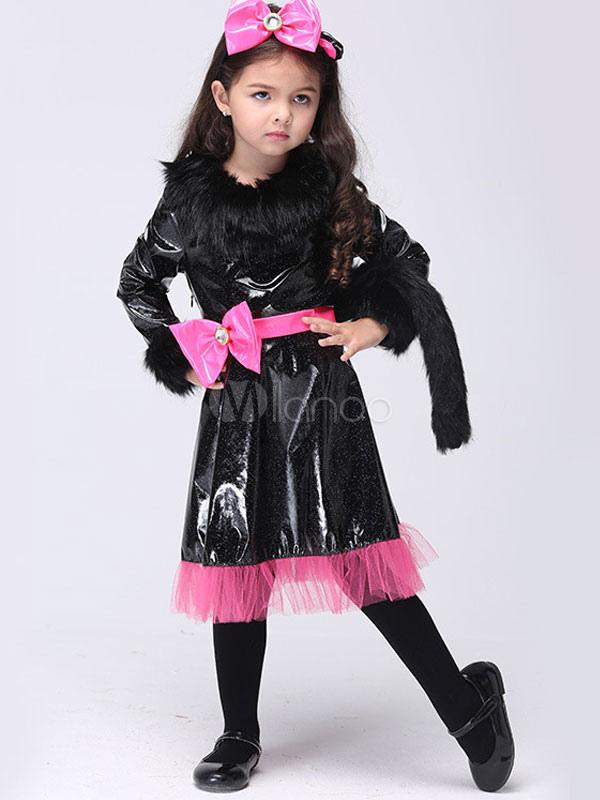 Costume Enfant Du Chat En Polyester Noir