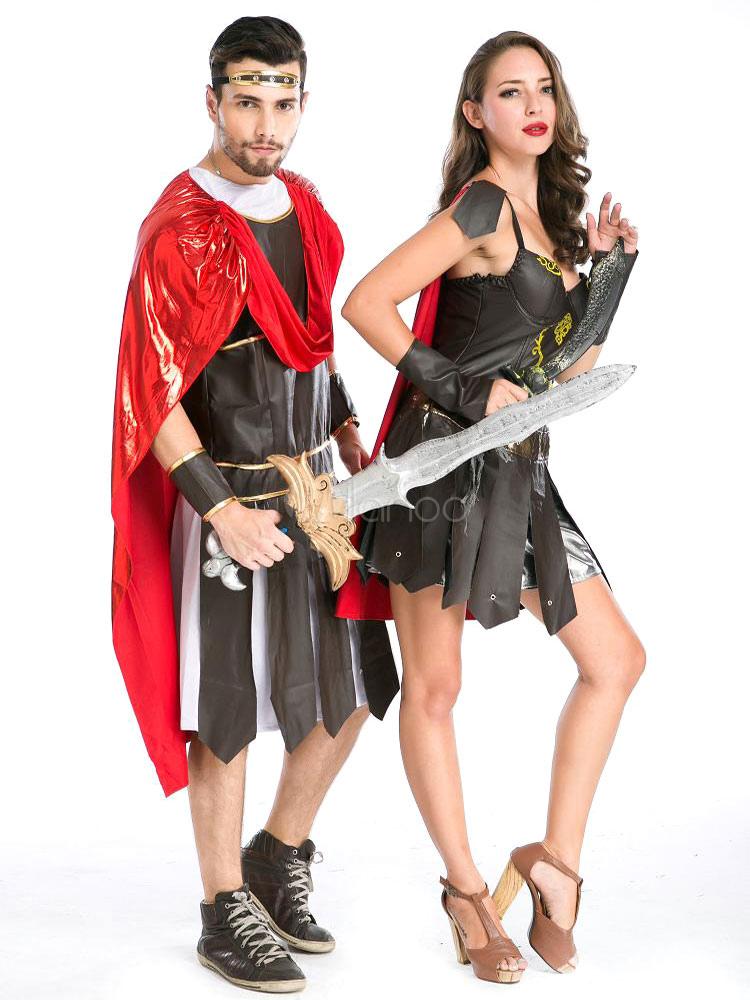 couples costumes 2017 roman gladiator couple halloween