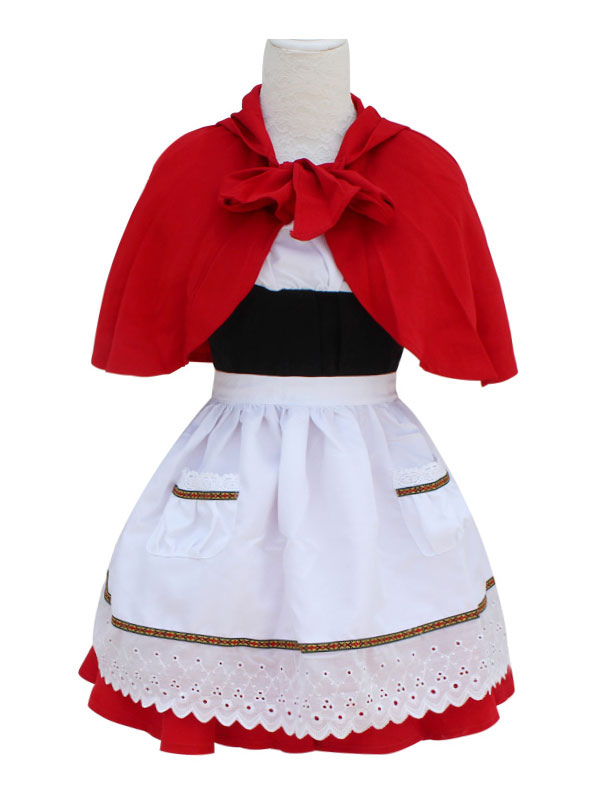 League Of Legend Lol Red Riding Annie The Dark Child Cosplay Costume Simple Version image