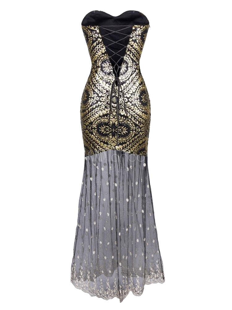 ann es 1920 flapper dress grand gatsby vintage costume f minin paillettes robe maxi robe et. Black Bedroom Furniture Sets. Home Design Ideas