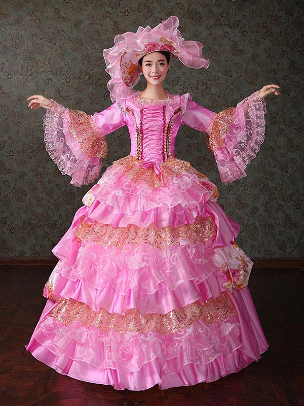 Фото из старинные бальные платья