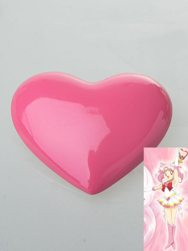 Sailor Chibi Moon Small Lady Chibiusa Cosplay Pink Brooch (Costumes Cosplay Props) photo