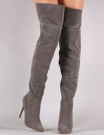 Over the Knee Boots, Thigh High Boots | Milanoo.com