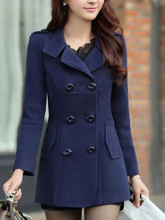 Women's Coats-Cheap Trench, Pea & Wool Coats for Women   Milanoo.com