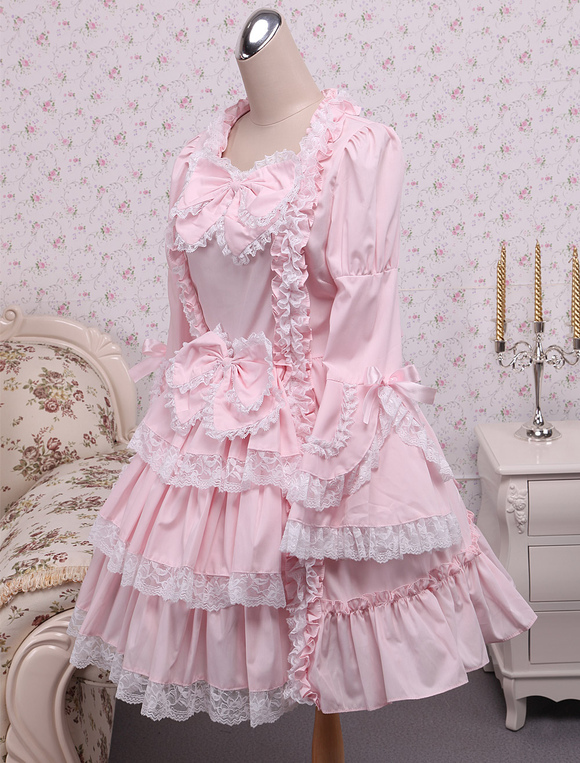 Lolitashow Sweet Lolita Dress Princess Of Chacha OP Lolita One ...