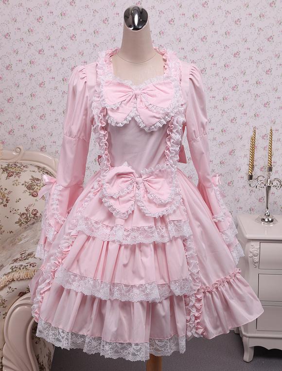 Lolitashow Sweet Lolita Dress Princess Of Chacha OP Lolita One ...