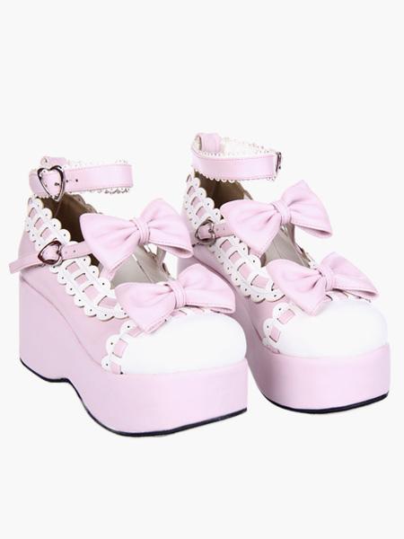 Swee Lolita Platform Shoes Ankle Strap Lolita Flatform Shoes ...