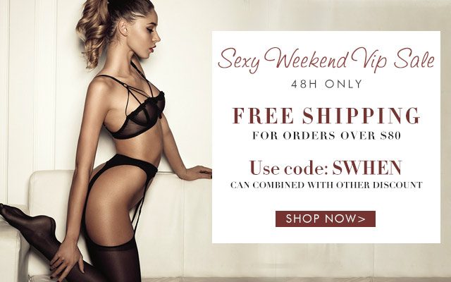 Sexy Weekend Vip Sale 48H ONLY FREE SHIPPING For orders over $80 USE CODE: SWHEN Can combined with other discount. SHOP NOW>