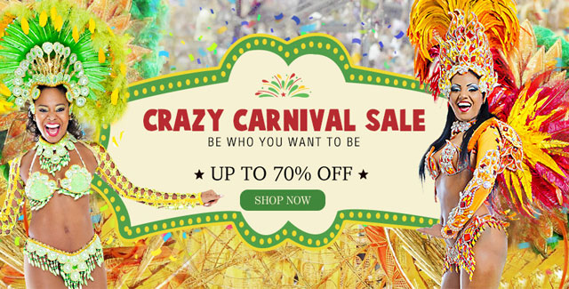 Crazy carnival sale UP TO 70% OFF SHOP NOW>