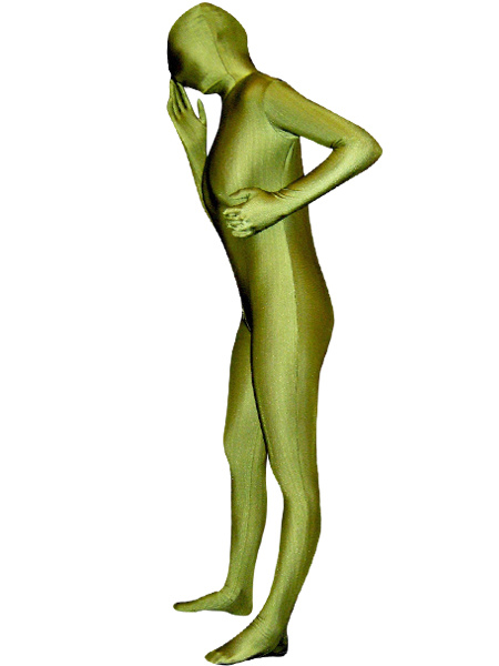 Milanoo coupon: Halloween Army Green Zentai Suit Lycra Spandex Unisex Full Bodysuit Morphsuits
