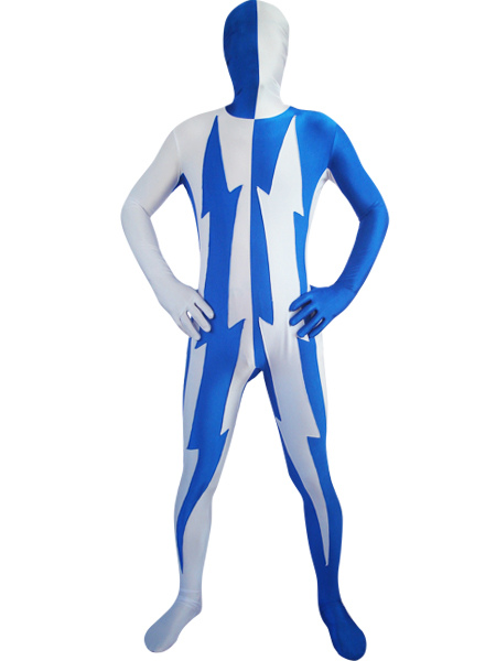 Milanoo coupon: Lycra Two Tone Zentai Suits For Halloween