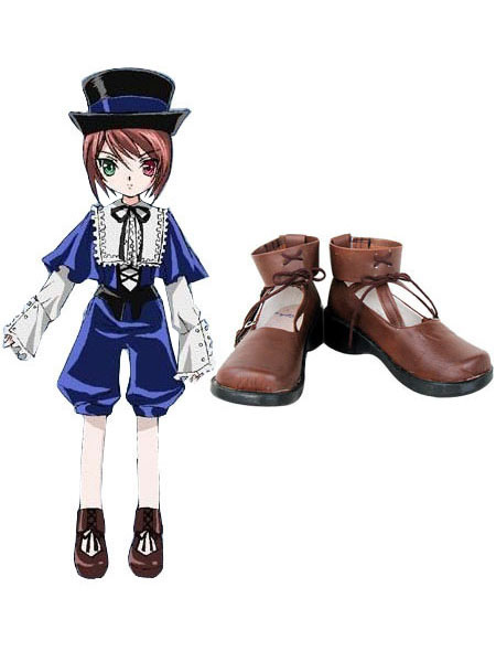 Milanoo coupon: Rozen Maiden Imitated Leather Cosplay Shoes